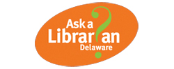 Image of the 'Ask a Librarian Delaware' logo