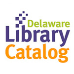 Image of the  Delaware Library Catalog logo