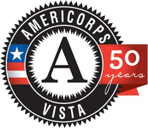Image of the Americorps Vista logo