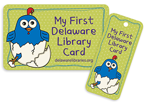 my first Delaware library card